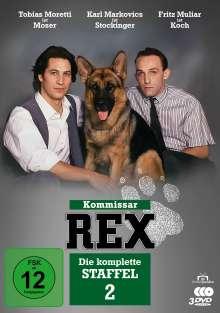 Kommissar Rex Staffel 2, 3 DVDs