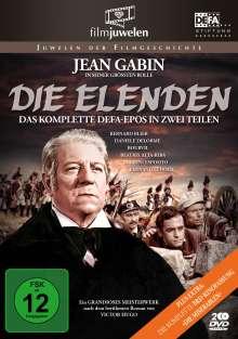 Die Elenden / Die Miserablen, 2 DVDs