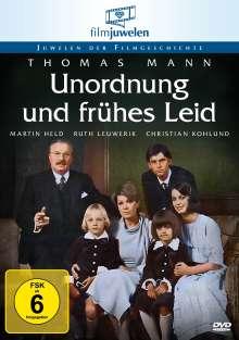 Unordnung und frühes Leid, DVD