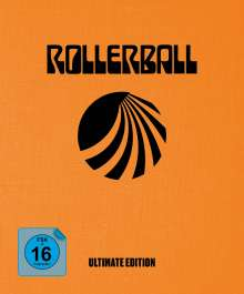 Rollerball (1975) (Ultimate Edition) (Ultra HD Blu-ray & Blu-ray im Mediabook), 1 Ultra HD Blu-ray und 4 Blu-ray Discs