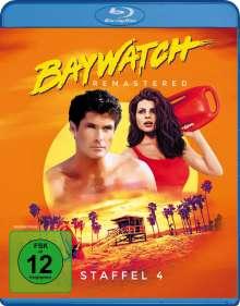 Baywatch Staffel 4 (Blu-ray), 4 Blu-ray Discs