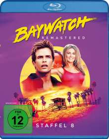 Baywatch Staffel 8 (Blu-ray), 4 Blu-ray Discs