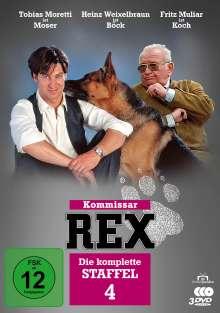 Kommissar Rex Staffel 4, 3 DVDs