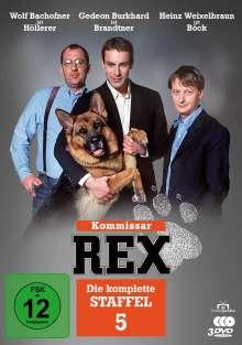 Kommissar Rex Staffel 5, 3 DVDs