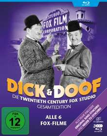 Dick und Doof - Die Fox-Studio-Gesamtedition (Alle 6 Fox-Filme) (Blu-ray), 2 Blu-ray Discs