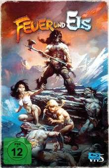 Feuer und Eis (1983) (Limited Collector's Edition im VHS-Design) (Blu-ray), Blu-ray Disc