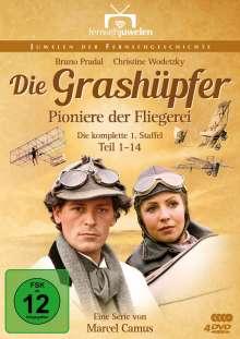 Die Grashüpfer - Pioniere der Fliegerei Staffel 1, 4 DVDs