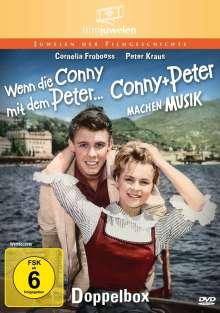 Wenn die Conny mit dem Peter / Conny und Peter machen Musik, 2 DVDs
