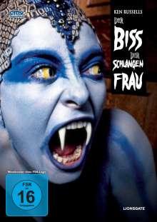 Der Biss der Schlangenfrau, DVD