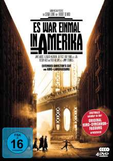 Es war einmal in Amerika (Extended Director's Cut + Langfassung inkl. Original-Synchro), 4 DVDs