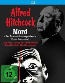 Mord - Der Auslandskorrespondent (Blu-ray), Blu-ray Disc