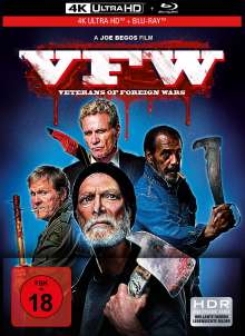 VFW - Veterans of Foreign Wars (Ultra HD Blu-ray & Blu-ray), 1 Ultra HD Blu-ray und 1 Blu-ray Disc