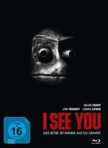 I See You (Blu-ray & DVD im Mediabook), 1 Blu-ray Disc und 1 DVD
