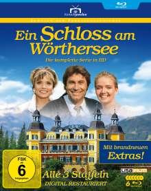 Ein Schloss am Wörthersee (Komplette Serie) (Blu-ray), 5 Blu-ray Discs