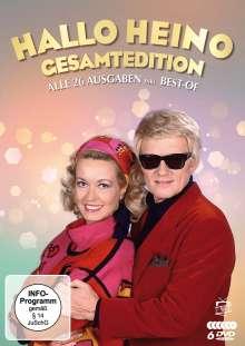 Hallo Heino (Gesamtedition: Die komplette Show-Reihe), 6 DVDs