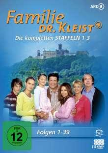 Familie Dr. Kleist Staffel 1-3, 12 DVDs