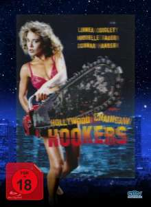 Hollywood Chainsaw Hookers (Blu-ray & DVD im Mediabook), 1 Blu-ray Disc und 1 DVD