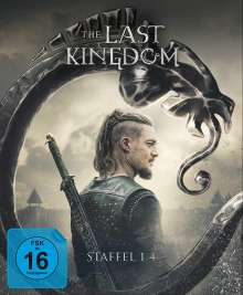 The Last Kingdom Staffel 1-4 (Blu-ray), 14 Blu-ray Discs