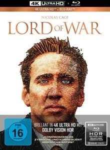Lord of War - Händler des Todes (Ultra HD Blu-ray & Blu-ray im Mediabook), 1 Ultra HD Blu-ray und 1 Blu-ray Disc