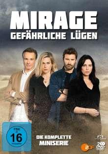 Mirage - Gefährliche Lügen (Komplette Serie), 2 DVDs