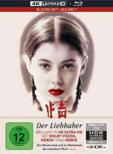 Der Liebhaber (Ultra HD Blu-ray & Blu-ray im Mediabook), 1 Ultra HD Blu-ray und 1 Blu-ray Disc