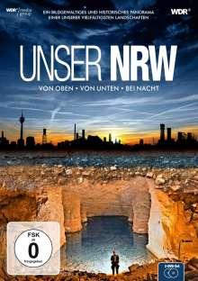 Unser NRW (NRW von oben, von unten und bei Nacht), 2 DVDs