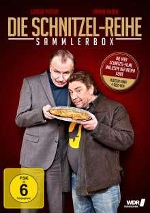 Die Schnitzel-Reihe (Sammler-Box inkl. Serie), 4 DVDs