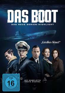 Das Boot Staffel 1, 3 DVDs
