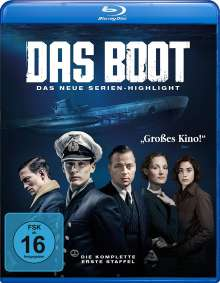 Das Boot Staffel 1 (Blu-ray), 3 Blu-ray Discs
