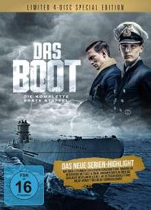 Das Boot Staffel 1 (Special Edition) (Blu-ray im Mediabook), 4 Blu-ray Discs