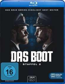 Das Boot Staffel 2 (Blu-ray), 3 Blu-ray Discs