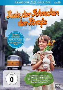 Luzie, der Schrecken der Straße (Sammler-Edition im Digipack) (Blu-ray), 1 Blu-ray Disc und 1 DVD