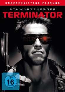 Terminator I (ungeschnittene Fassung), DVD