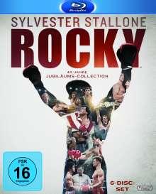 Rocky - The Complete Saga (Blu-ray), 6 Blu-ray Discs
