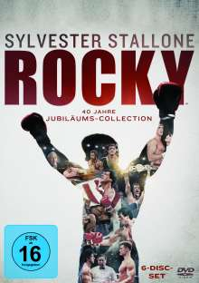 Rocky - The Complete Saga, 6 DVDs