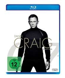Daniel Craig Collection (Blu-ray), 4 Blu-ray Discs