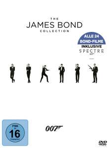 The James Bond Collection (2016), 24 DVDs
