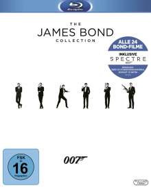 The James Bond Collection (2016) (Blu-ray), 25 Blu-ray Discs