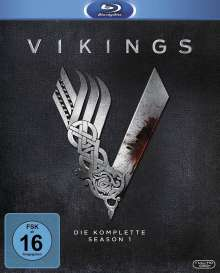 Vikings Staffel 1 (Blu-ray), 3 Blu-ray Discs