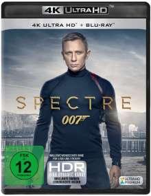 James Bond: Spectre (Ultra HD Blu-ray & Blu-ray), 1 Ultra HD Blu-ray und 1 Blu-ray Disc