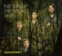 Tocotronic: Pure Vernunft darf niemals siegen (180g) (Limited-Edition) (Green Vinyl), 2 LPs