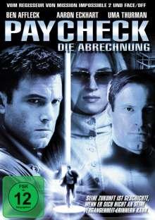 Paycheck - Die Abrechnung, DVD