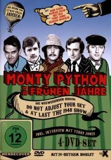Monty Python: Die frühen Jahre (OmU), 4 DVDs