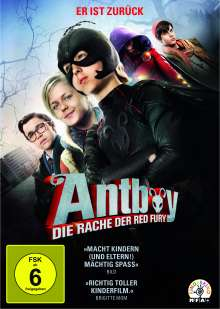 Antboy - Die Rache der Red Fury, DVD