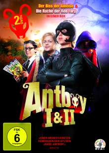 Antboy 1 & 2, 2 DVDs