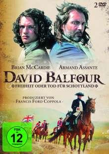 David Balfour - Freiheit oder Tod für Schottland, 2 DVDs