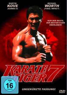 Karate Tiger 7, DVD