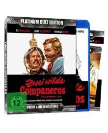 Zwei wilde Companeros (Blu-ray & DVD), 1 Blu-ray Disc und 1 DVD