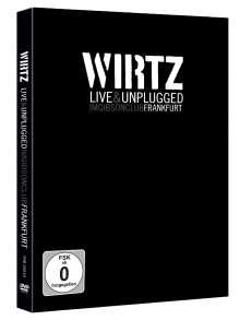 Wirtz: Live & Unplugged im Gibson Club Frankfurt (DVD + 2 CD), 1 DVD und 2 CDs