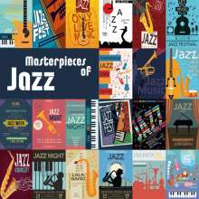 Masterpieces Of Jazz, 2 CDs